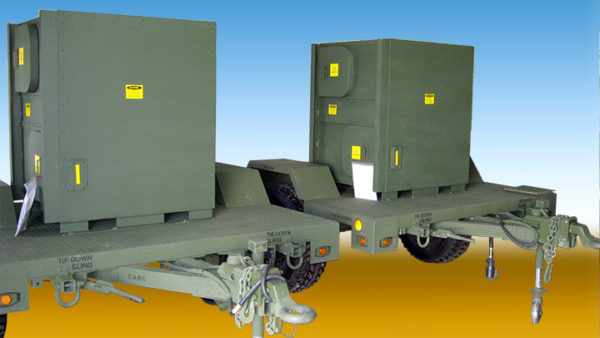 Model: AC294-60 on an M1102 Light Tactical Trailer 5 Ton ECUs Supporting Special Missions