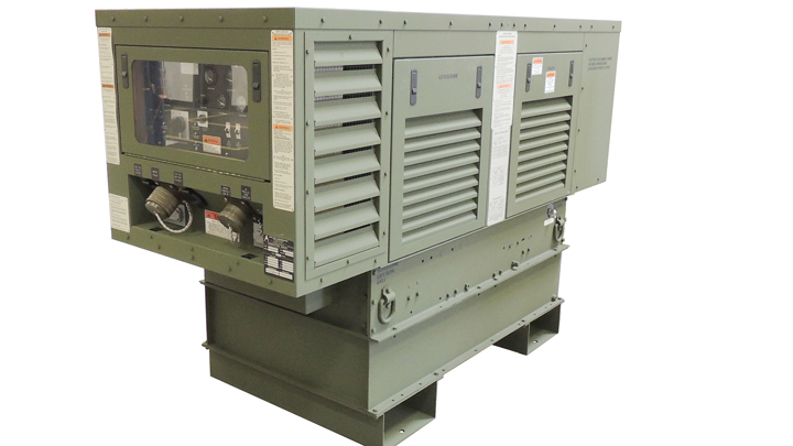 Mission Requirements drove the Army's Requirements for these Special Mission 40kW Gensets.