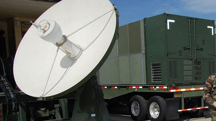 Teleport Antenna; Satellite HVAC; Satellite Chillers; Antenna Chillers;